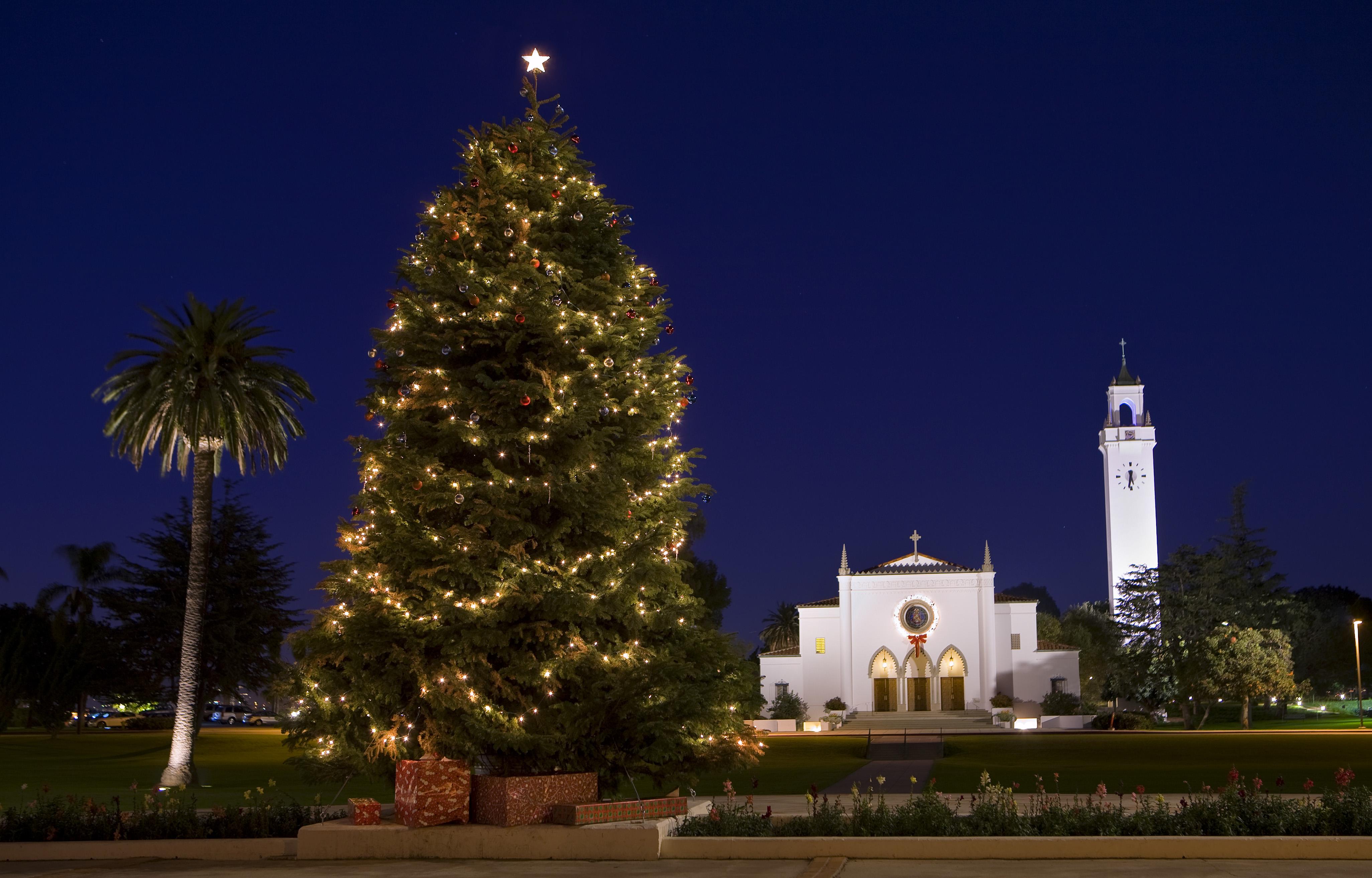 Lmu Christmas Tree Lighting 2020 Ceremony 2016 Christmas Greeting   Loyola Marymount University